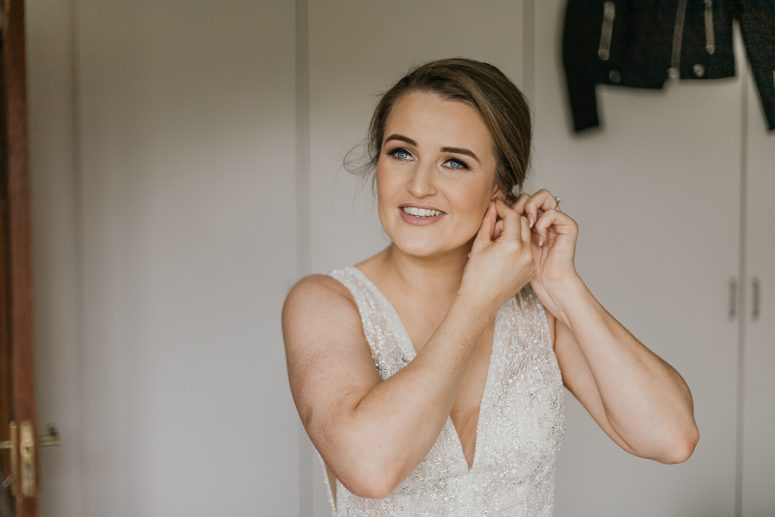 Darren Byrne Photography and Film, Clonabreany House, Spring wedding, natural makeup
